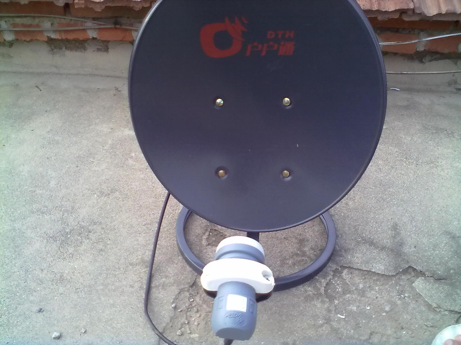 卫星锅高频头_卫星如何设置啊,小锅盖,信号强度是60,质量是0_百度知道