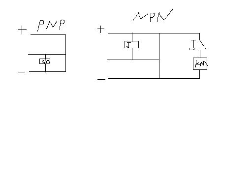 pnp和npn图_PNP的接触传感器转NPN,通过继电器转换,求带图带接线过程 ...