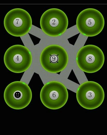 九宫格锁屏_求个手机九宫格屏锁图案_百度知道