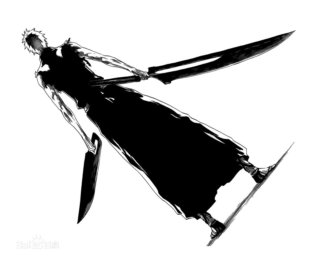 死神黑崎一护的刀_黑崎一护的新斩魄刀 - 7262图片网