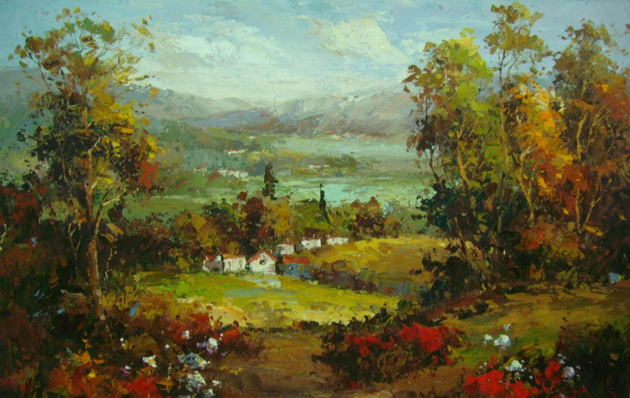 西方油画大师有哪些_谁那有一些油画大师作品照片呀,给我推荐几个吧,拜托了 ...
