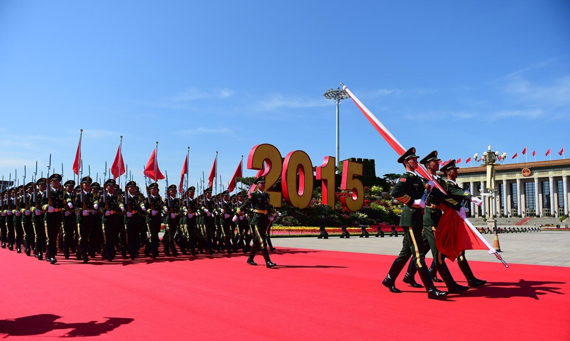 法国阅兵2015_2015年抗战胜利日阅兵是为了纪念中国人民抗日战争暨世界反法西斯