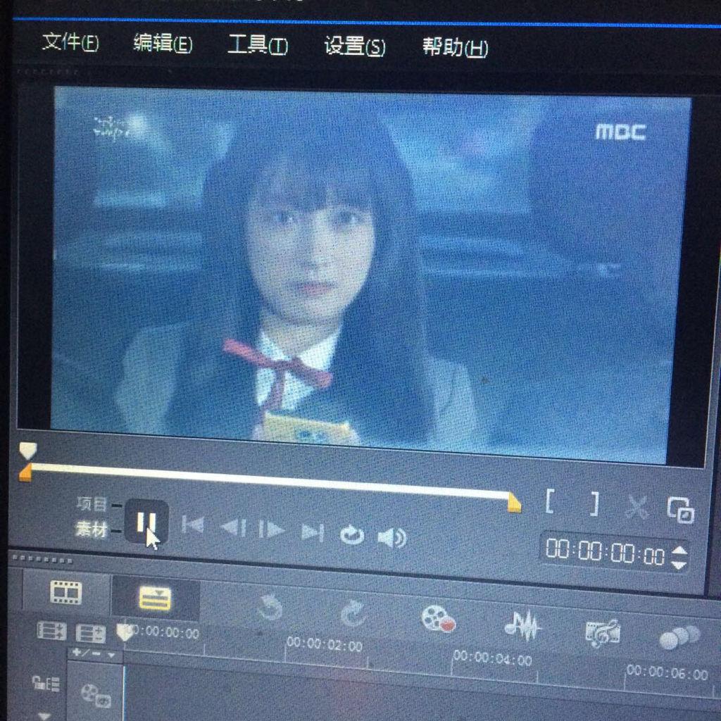 皇色在动视屏直接看的_会声会影8里面我加入了一个两分钟的视频没办法播放他就变成