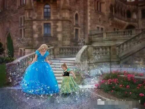 淫妹综合_妈妈将唐氏综合症的女儿变成迪士尼公主,整个世界都温暖了.