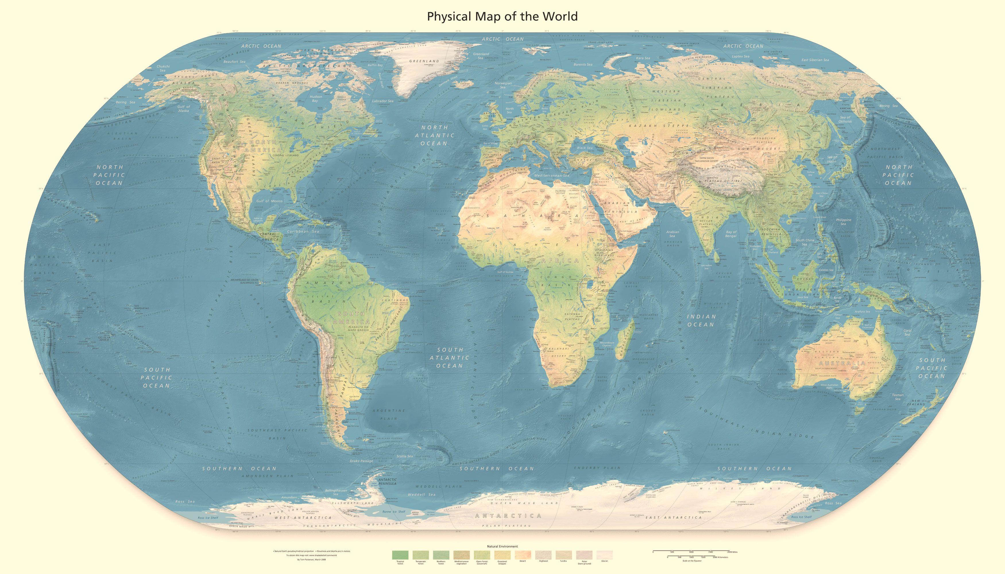 全世界的英文_谁知道哪里有卖全英文版的世界地图呢?注意是纯英文版哦 ...