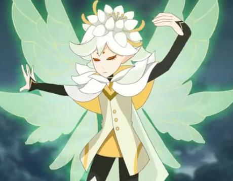 花精灵王眠妃图片_求动画片小花仙的精灵王的所有图片_百度知道