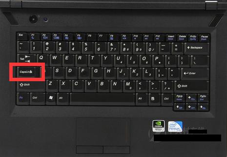 鍵盤的capslk大小寫鎖定鍵可以切換大小寫字母切換.圖片