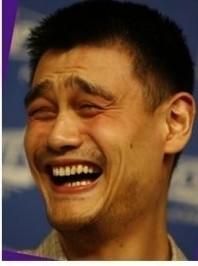 姚明笑_姚明笑脸怎么来的?常看到有用他的笑脸做漫画很搞想知道怎么来 ...
