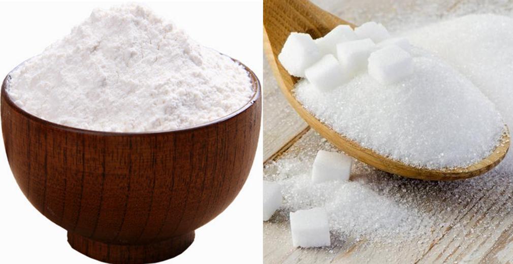 怎样分辨白糖和面粉?