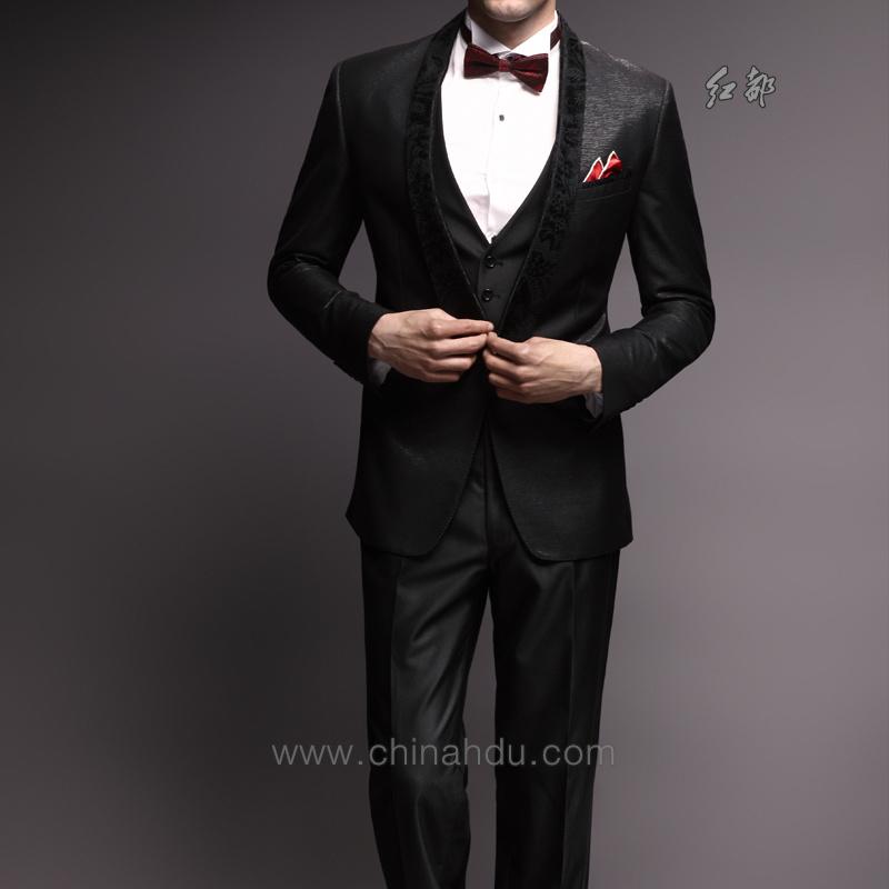 结婚领带颜色_结婚的时候应该穿什么西装?比如领带或蝴蝶结、上衣、衬衫 ...