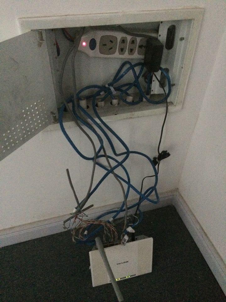 路由器怎么安装_弱电箱关于布线问题和路由器安装问题_百度知道