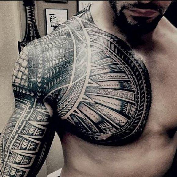 送葬者纹身_是一种象征自己民族的纹身图案图片