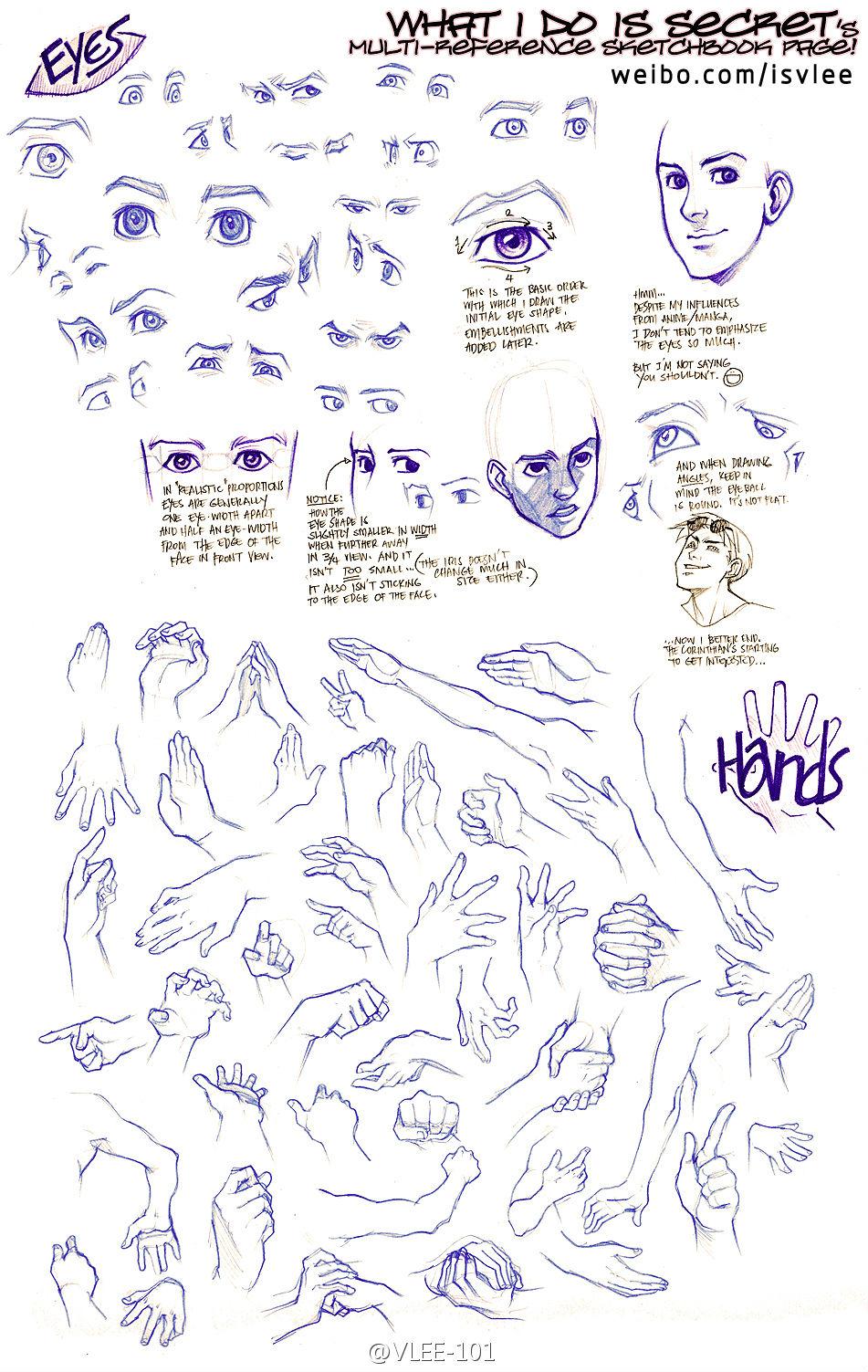 求动漫各种手的动作铅笔图 练习画手_百度知道