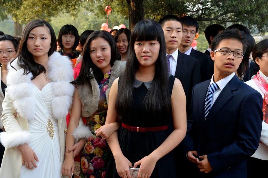北京101小學的600名成人生在圓明園舉行初中中學禮各位知友看?靜安對口集體高三圖片