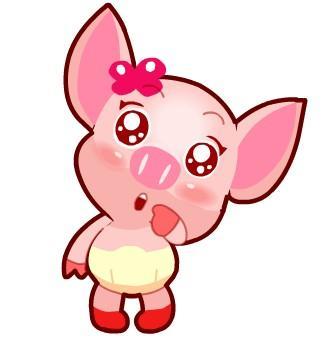 可爱猪猪图片大全_可爱的粉色小猪QQ头像_百度知道