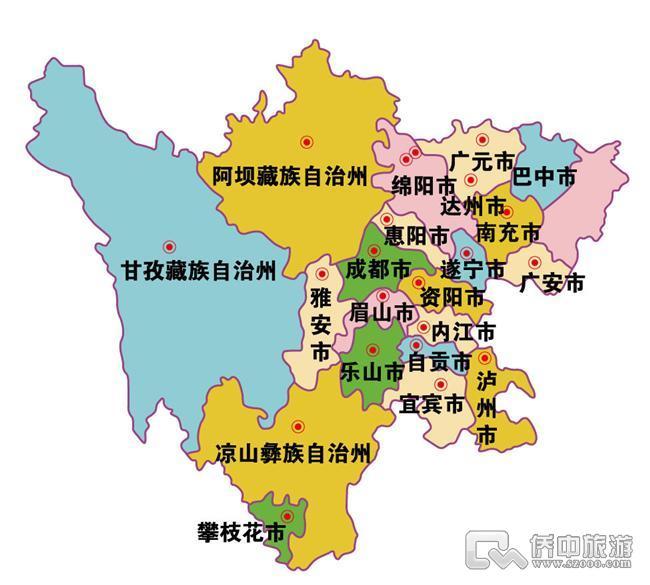 四川绵竹地图_四川地形图高清全图图片