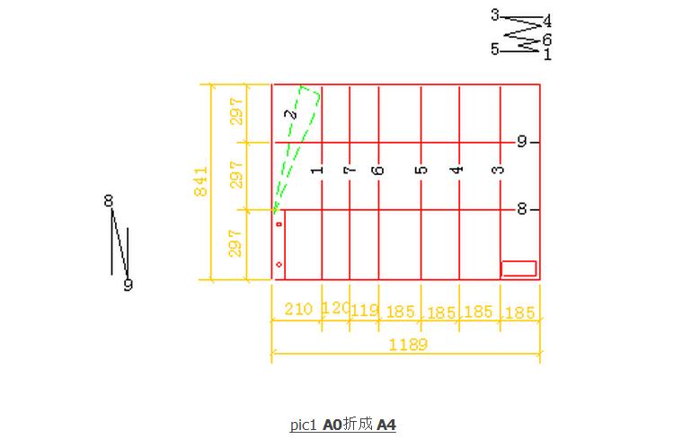 重庆竣工图框尺寸_A0加长图纸竣工图如何折叠_百度知道