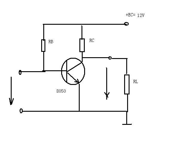9014开关电路图_用三极管9014设计一个音频输入级放大电路增益约100,求电路图 ...