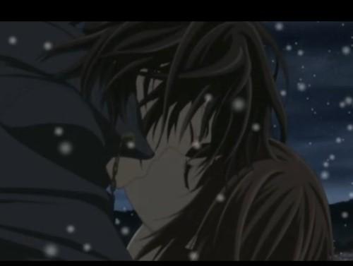 玖兰枢和优姬_吸血鬼骑士中优姬和谁接吻过?要图片_百度知道