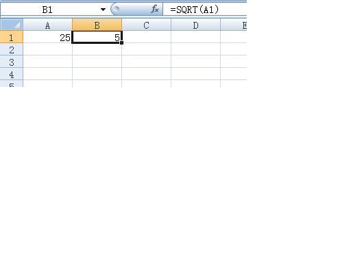 excel如何打根号_excel表格中怎么插入根号函数,怎么开平方?