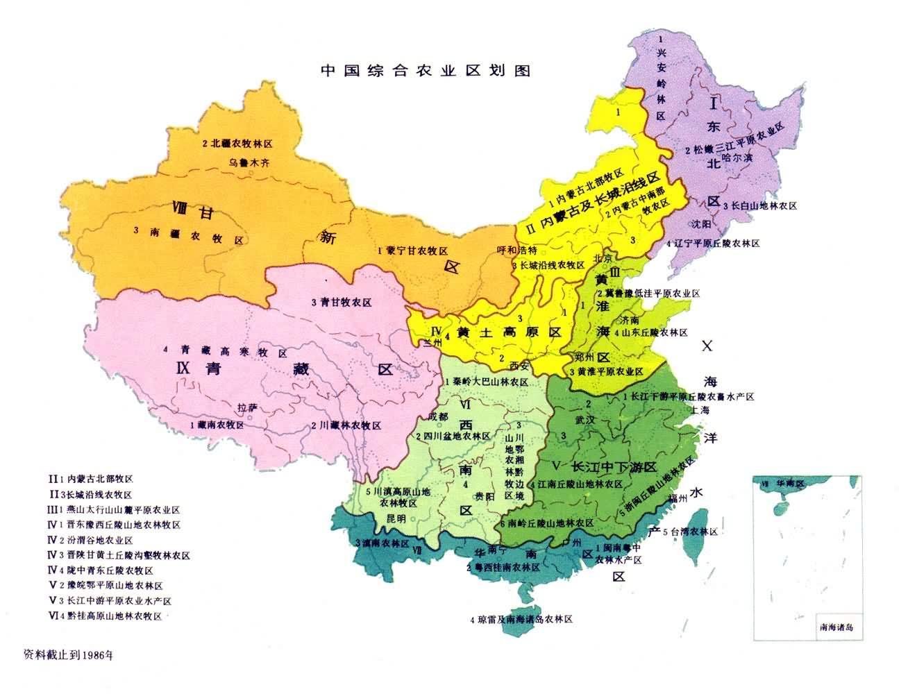 我国四大地理区域图_亲,帮忙找一张全面的有颜色划分的中国行政区域划分图_百度知道