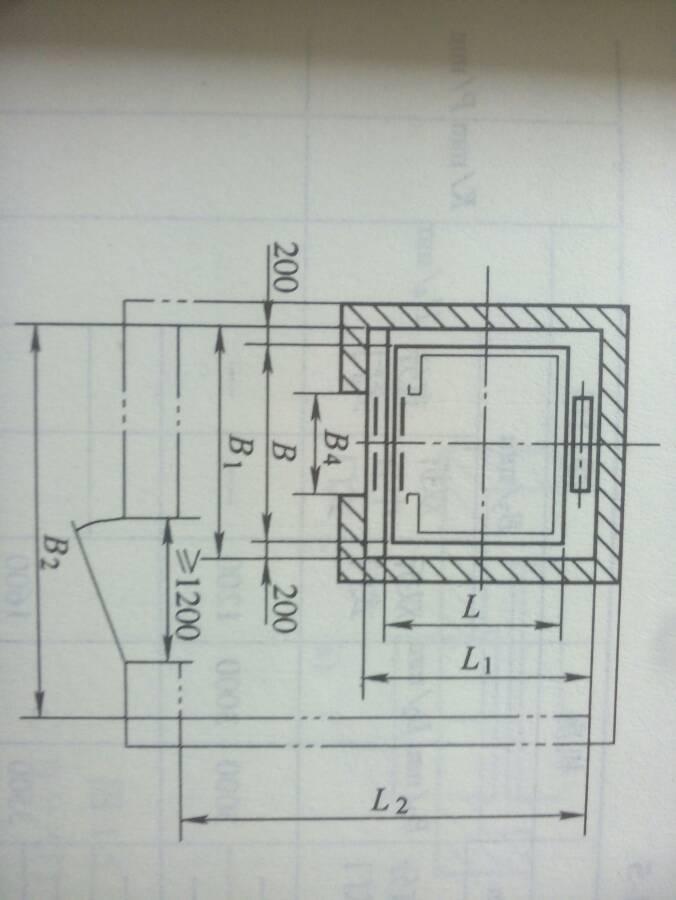 电梯机房平面布置图_电梯的井道机房平面图怎么看_百度知道