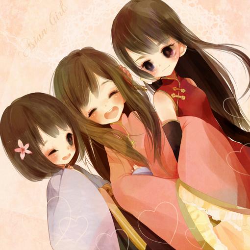 拽拽的情侣个性签名_要三姐妹的QQ网名和个性签名,如果有头像更好,要拽拽的,可爱 ...