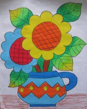 幼儿简易图画大全_刚学画画的8岁儿童画画起来又漂亮又简单的画_百度图片搜索 ...