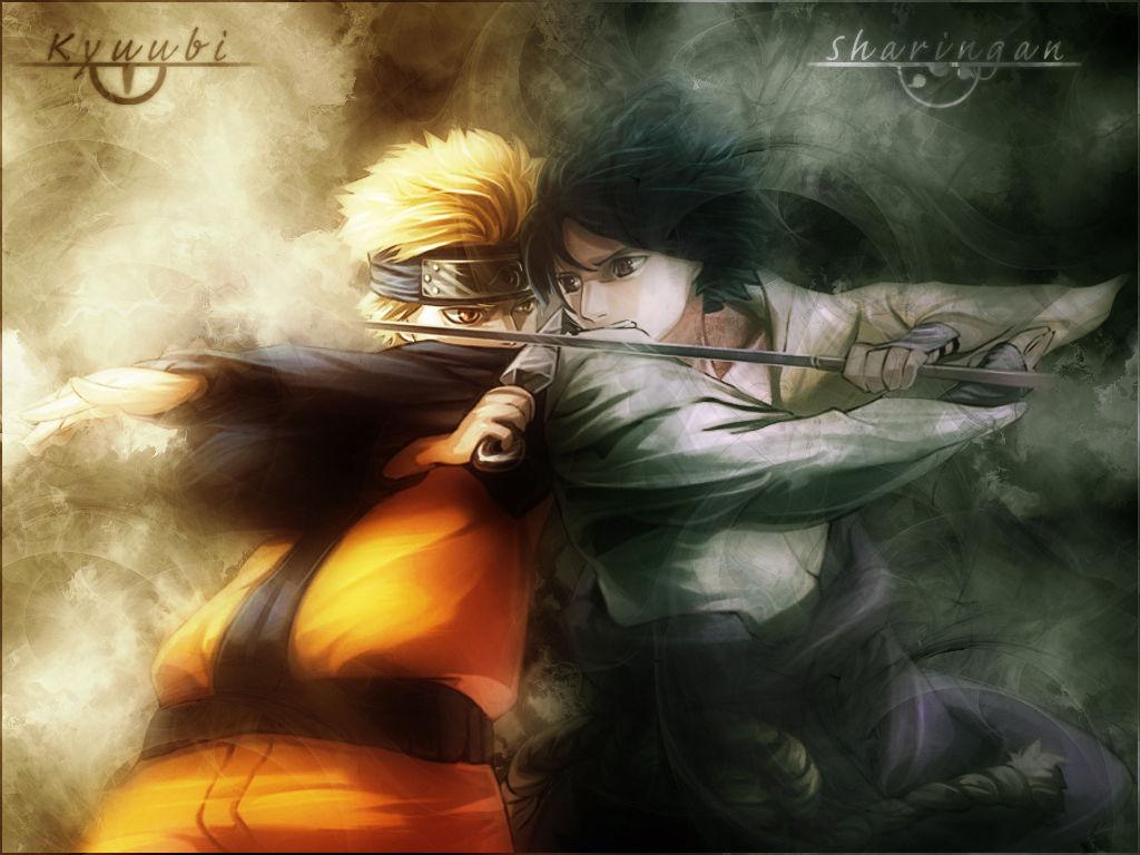 40 Hd Wallpaper Naruto Shippuden 3d: 跪求一张火影忍者19寸的高清壁纸,只要鸣人和佐助,各位大哥哥大姐姐帮帮忙了。_百度知道
