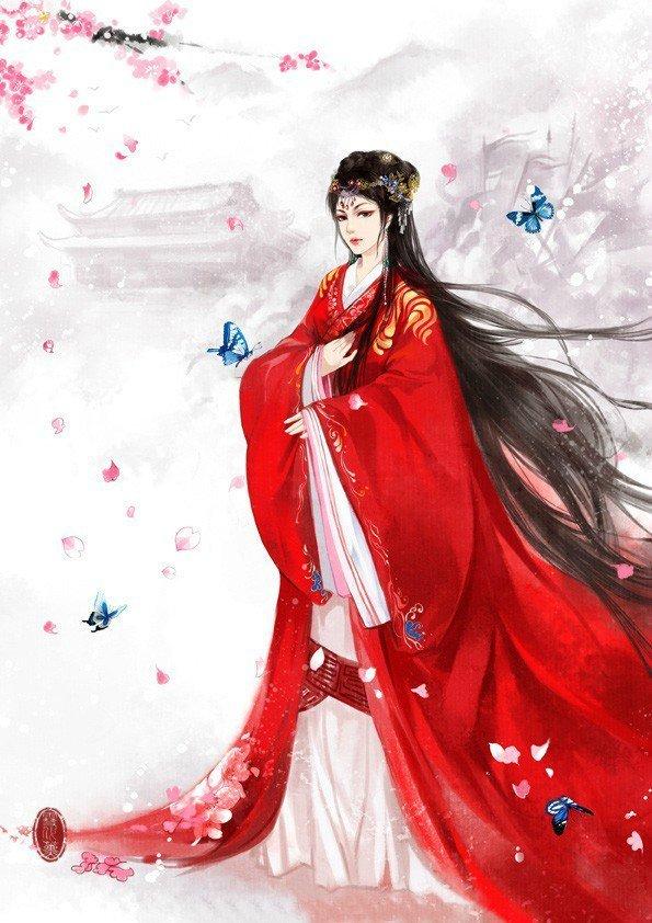 舞公主歌曲_求古风红衣女子图片,如下图这种,脸部最好清晰一点。_百度知道