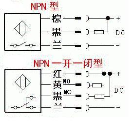 pnp和npn图_NPN接近开关的符号_百度知道