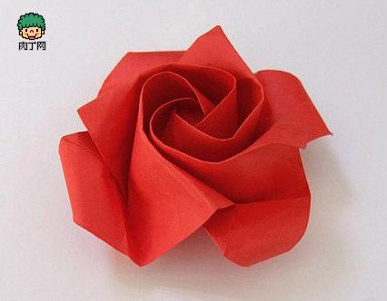 怎样用纸做玫瑰花_怎么用纸叠玫瑰花步骤图_百度知道
