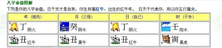 八字五行粹cc_八字中的五行为:火土,水土,火土,水木.五行缺金.