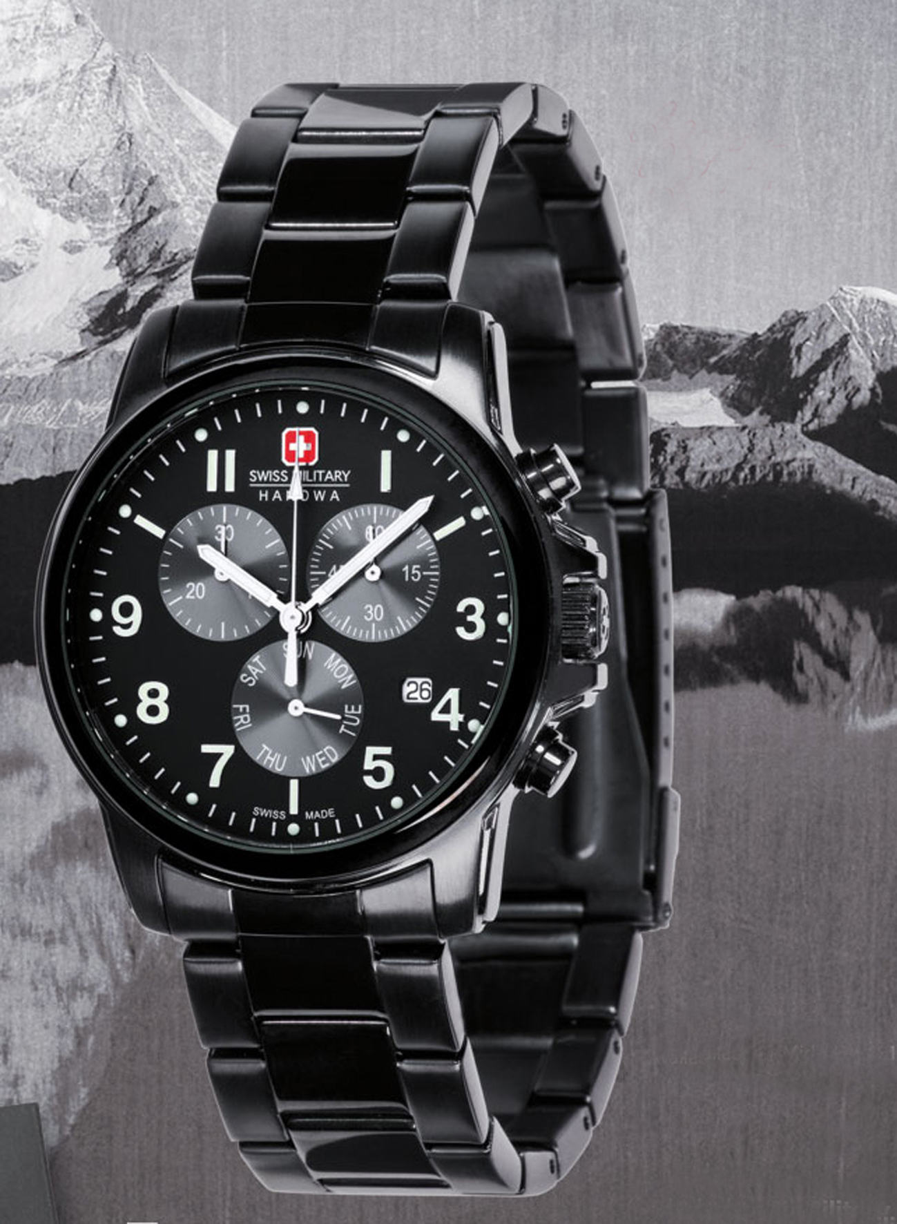 红十字的手表_瑞士军表hanowa recruit_百度知道