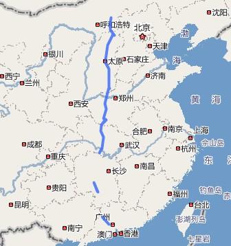荆门市三维地图_二广高速公路地图_百度知道