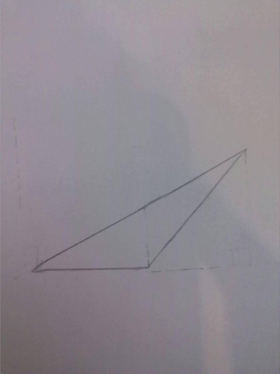 钝角三角形的高怎么画? 拜托了!!!!!!!!!!!!!!!!钝角三角形的高怎么画? 拜托了!!!!!!!!!!!!!!!!