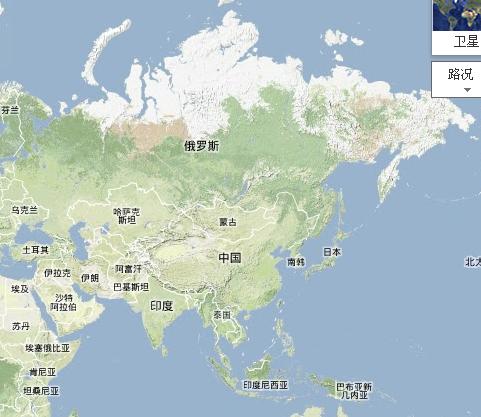 亚洲地形地图_亚洲地形图_百度知道