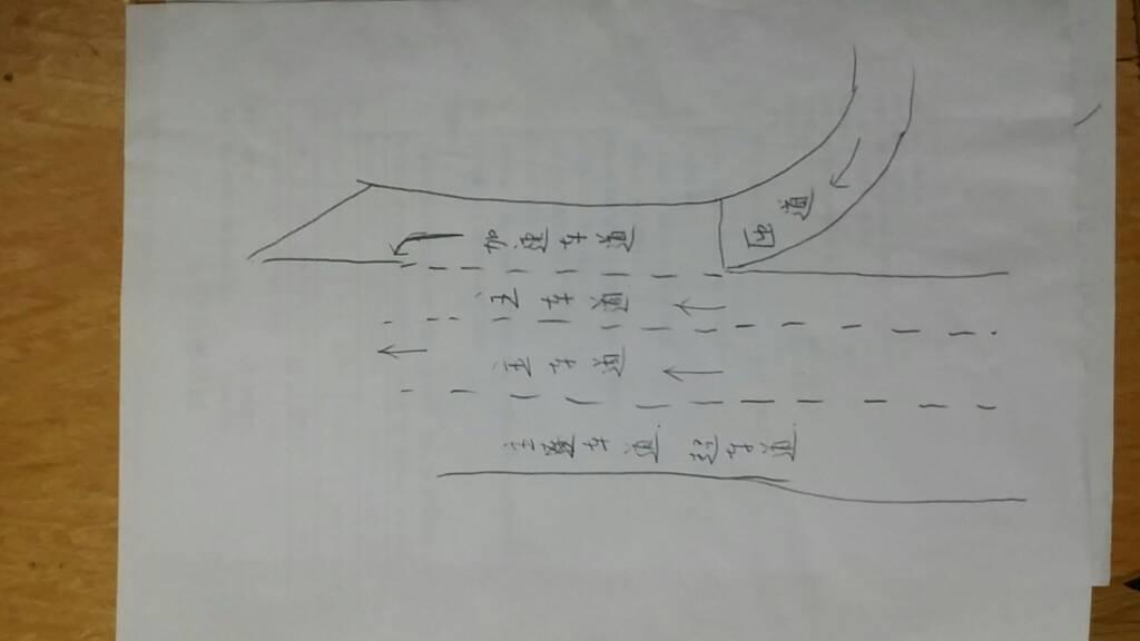 什么是加速车道_高速公路的匝道是什么,加速车道,减速车道又是什么_百度知道