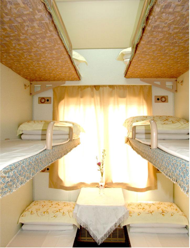 硬卧和软卧图片_直达列车硬卧的内饰 和普通的有啥区别_百度知道