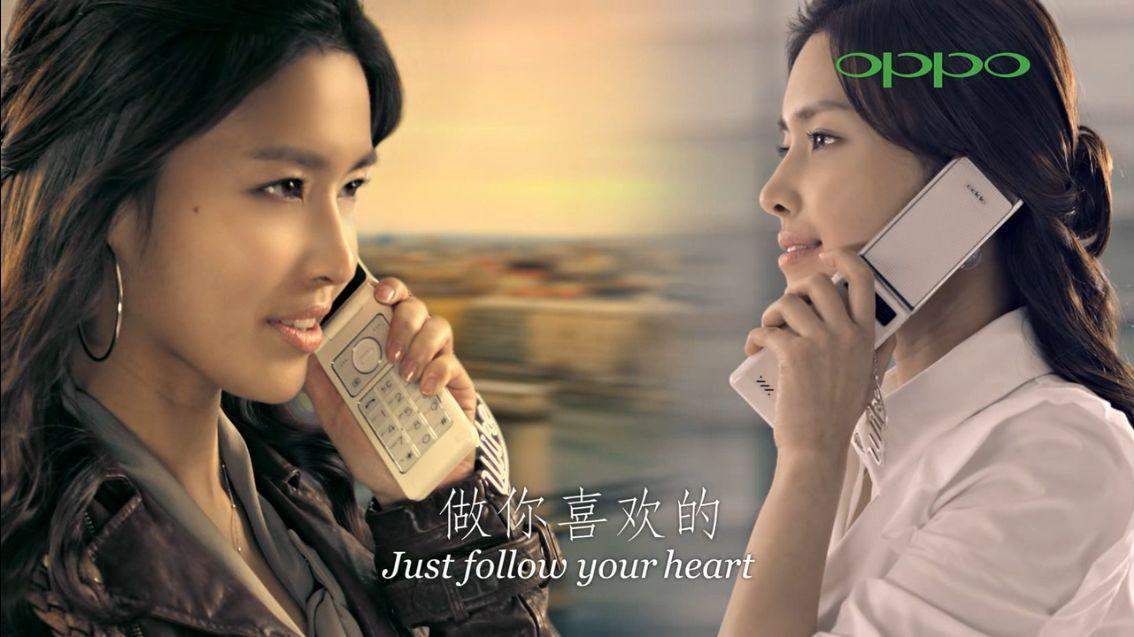 oppo手机广告男主角_派oppo广告的那个女主角是谁_百度知道