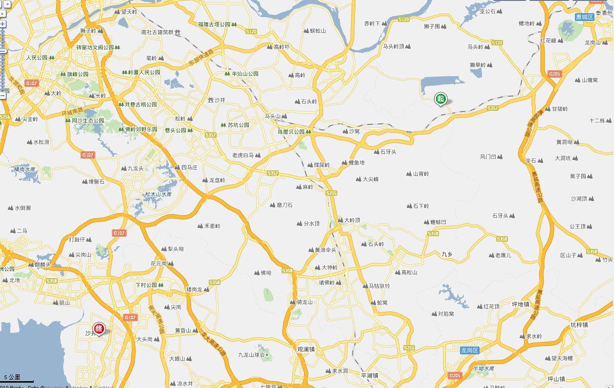 深圳宝安沙井地图_从惠州沥林到深圳沙井车站地图_百度知道