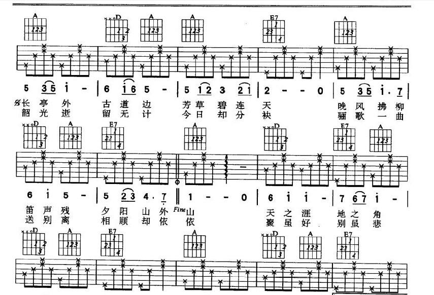 小星星吉他谱怎么看_【民谣吉他的问题】吉他谱怎么看_百度知道
