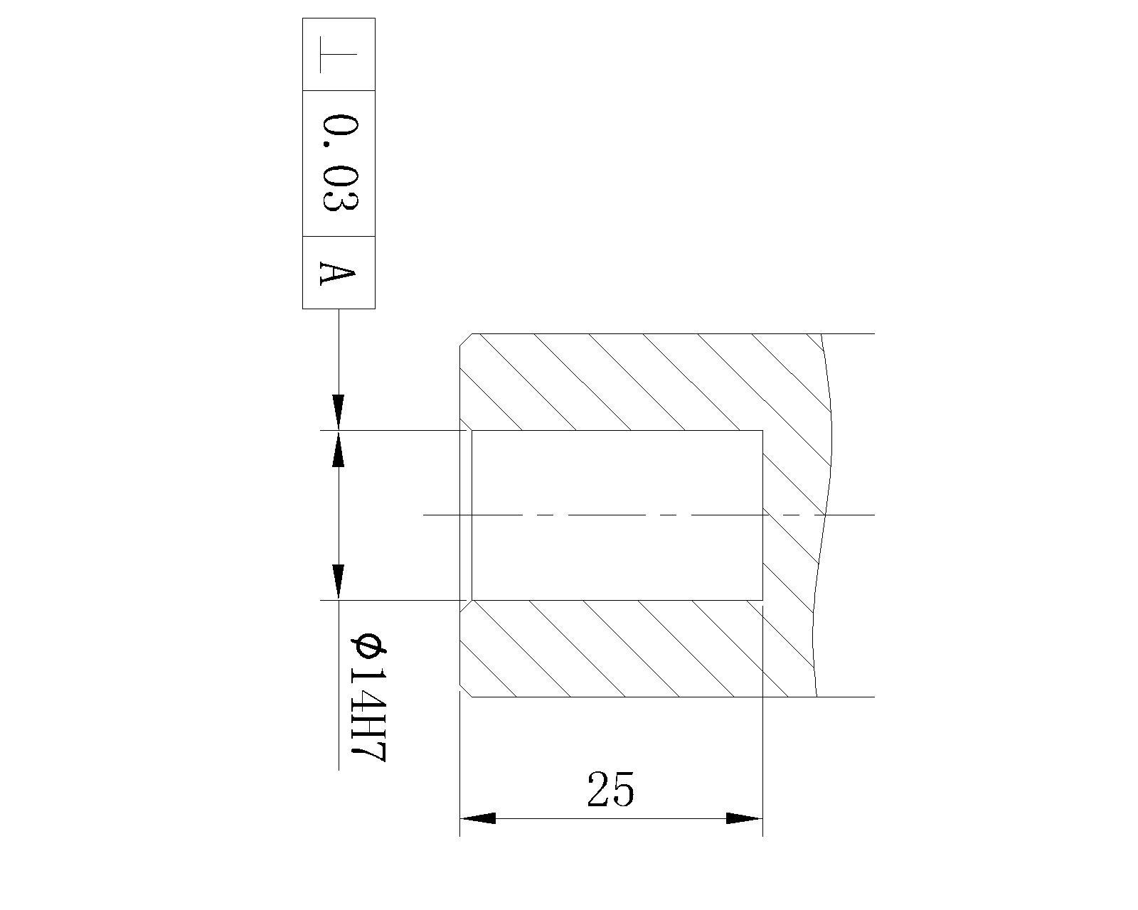 管螺纹标注_帮我看看这个螺纹垂直度标注正确吗?还有垂直度0.5mm要求高吗 ...