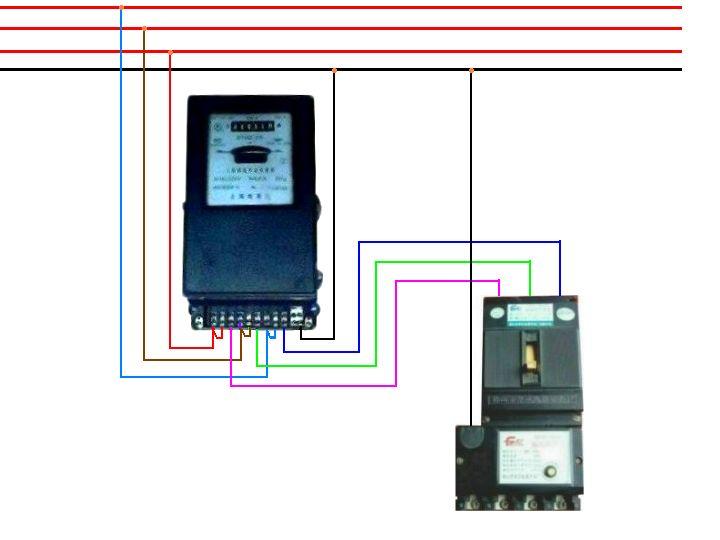 三相四线互感电表_三相电表不用互感器三相四线怎么接_百度知道