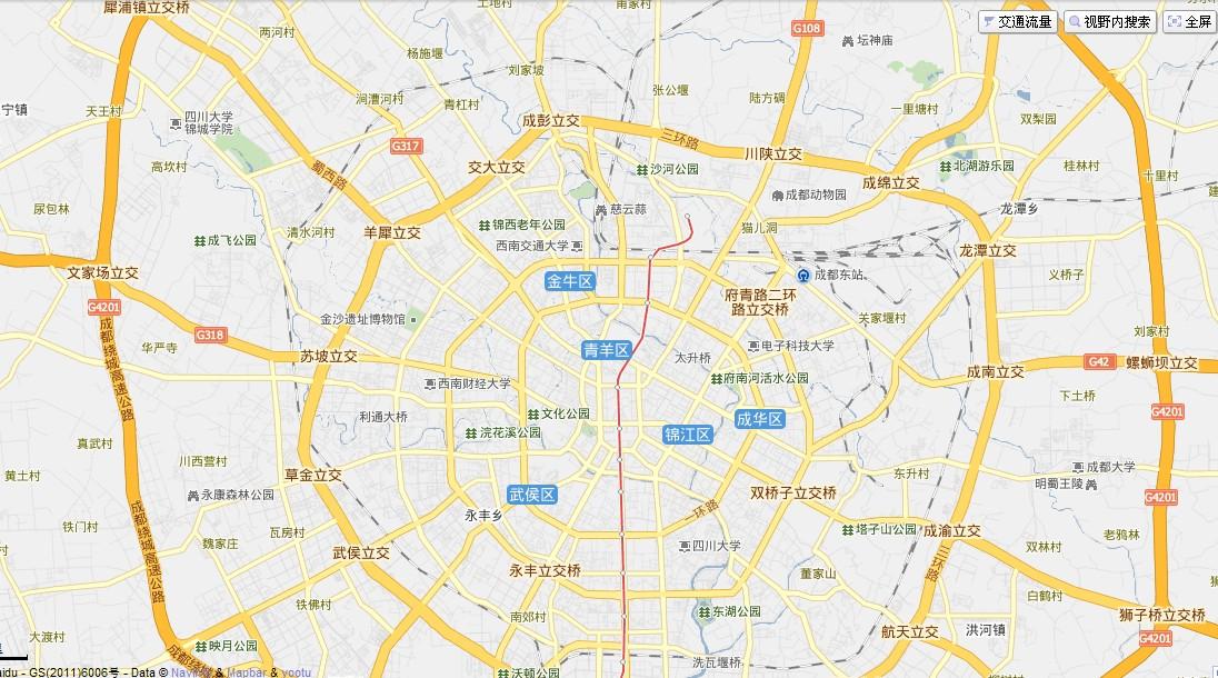 成都市电子地图_成都地图_百度知道