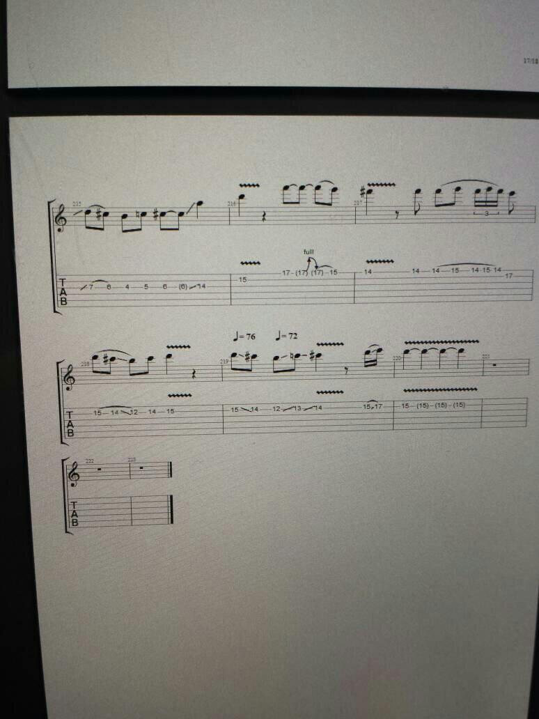 摇滚卡农电吉他谱_求摇滚卡农电吉他谱最后的一段solo的谱子_百度知道