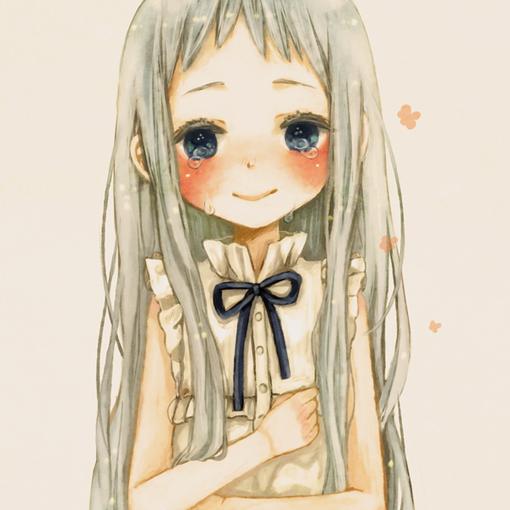 动漫女孩哭的头像_求动漫女生头像 边哭边苦笑的_百度知道