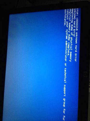 电脑总是自动重启_我的笔记本总蓝屏,还自动重启电脑.win8的系统是华硕k550d