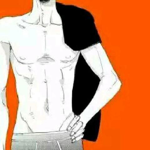 求這類動漫男腹肌頭像!圖片