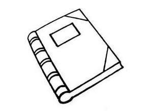怎么畫一本打開的書?本人做手抄報ing.速度!帶圖!圖片